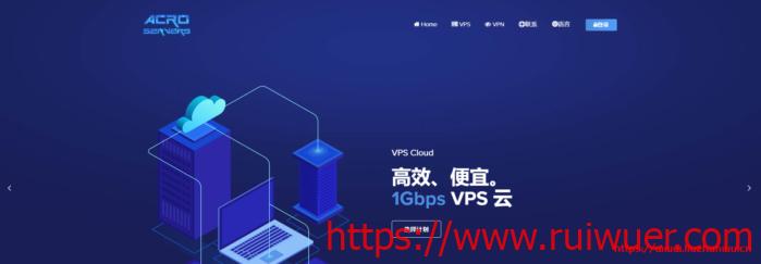 acroservers:€4.5/月,香港/日本/新加坡/洛杉矶等37个机房可选,1Gbps带宽,512内存/1核/10gSSD/500g流量-瑞吾尔