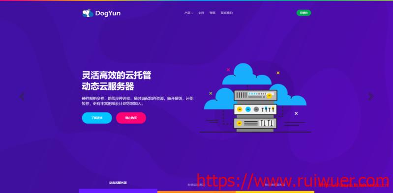 #便宜#Dogyun:1核/1G/10G SSD/500G/20Mbps/香港BGP三网直连/年付168元-瑞吾尔