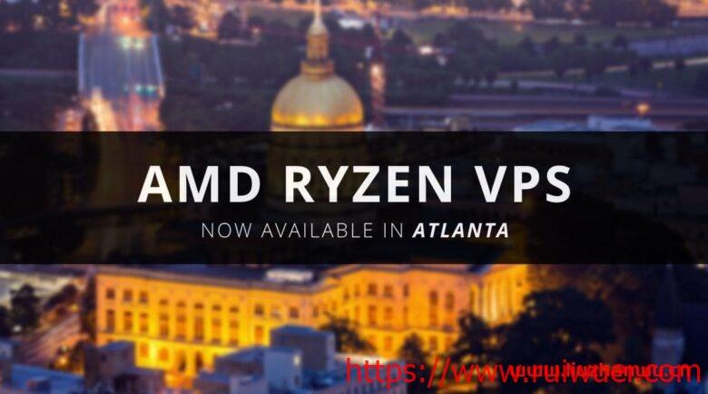 RackNerd:亚特兰大机房,AMD Ryzen VPS促销,$18/年,1核/24G NVMe/1G内存/2.5T流量/1G带宽-瑞吾尔