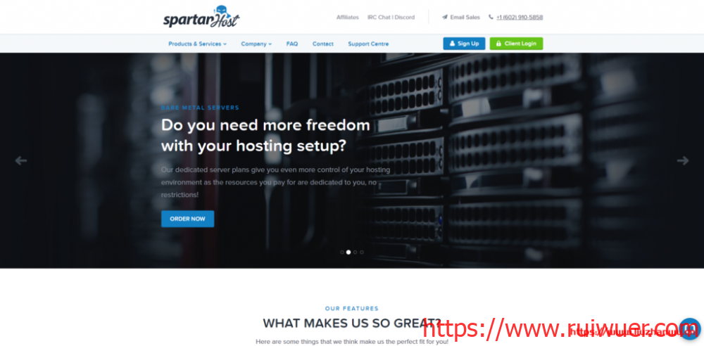 SpartanHost(斯巴达):西雅图机房,Cera联通CUVIP线路,10Gbps大带宽,20G高防,优惠后最低月付2.8美元-瑞吾尔