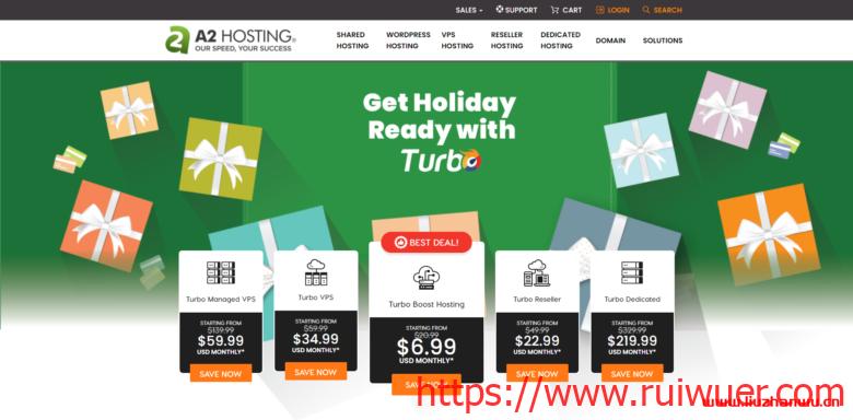 A2Hosting:美国WordPress外贸虚拟主机/新手购买教程/轻松教你自助购买A2Hosting主机-瑞吾尔
