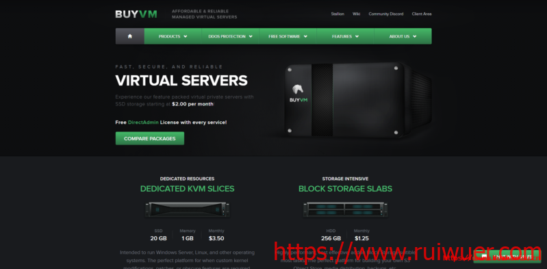 BuyVM:新增解锁流媒体VPS主机,1Gbps不限流量$5/月起-瑞吾尔