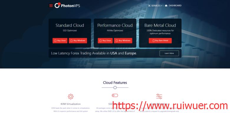 PhotonVPS:首月5折优惠,1核2G内存套餐2.5美元/月,Windows可选台湾/新加坡/日本等14机房,Linux可选美国4机房-瑞吾尔