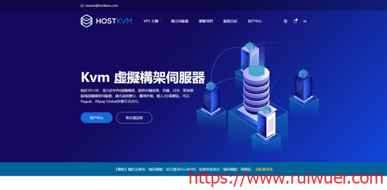 HostKvm:中秋国庆优惠,首次放出五折优惠码,新上俄罗斯VPS、香港高防VPS-瑞吾尔