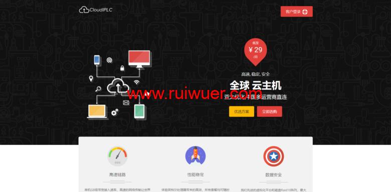 CloudIPLC:中秋秒杀活动,有沪日IPLC、泉州CN2等KVM VPS,最低半年付900元-瑞吾尔