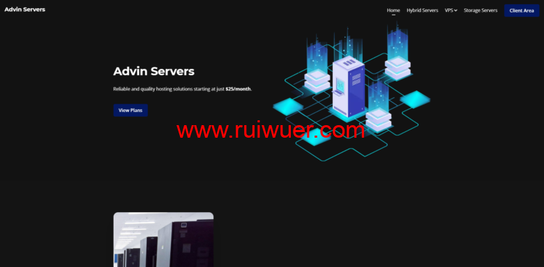 Advin Servers:$3.99/月/1核@AMD Ryzen 9 5900X/4GB内存/60GB SSD空间/不限流量/1Gbps端口/KVM/达拉斯-瑞吾尔