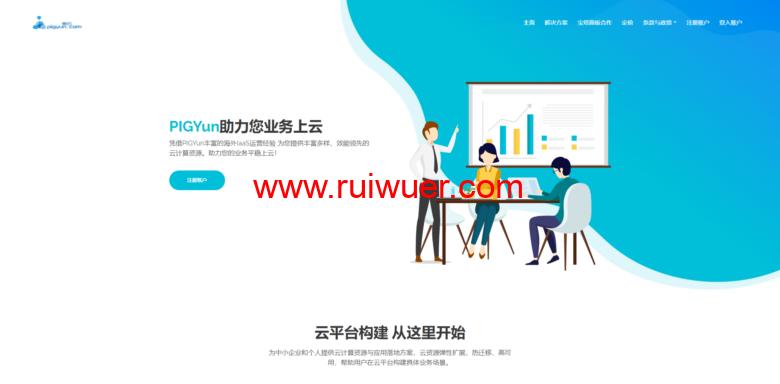 PIGYun:国庆优惠,香港CN2线路60M带宽月付19元,韩国CN2线路30M带宽月付14元-瑞吾尔