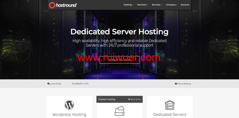 HostRound:美国达拉斯机房/E-2276G/32GB DDR4/1TB NVMe+4TB HDD/1Gbps端口月流量100TB/$149/月-瑞吾尔